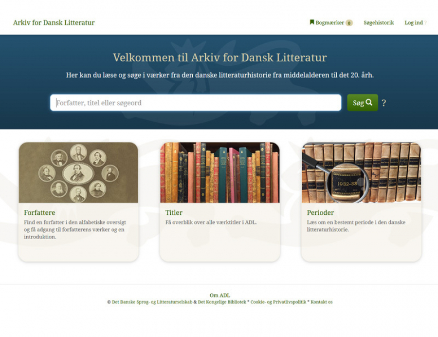 ADL - Arkiv for Dansk Litteratur