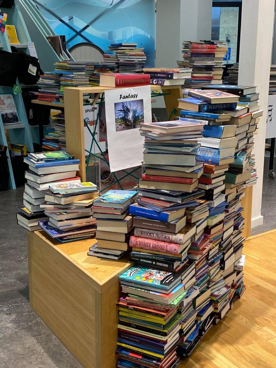 Bogsortering på Løkken Bibliotek