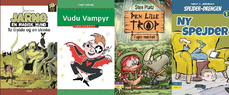 Hvilken bog skal vi vælge? Fantasy og Spejder