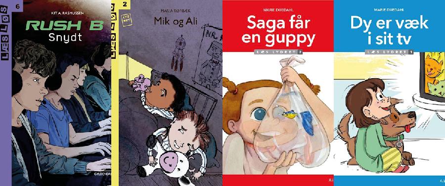 Hvilken bog skal vi vælge? Gaming og dyr