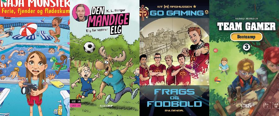 Hvilken bog skal vi vælge? Gaming