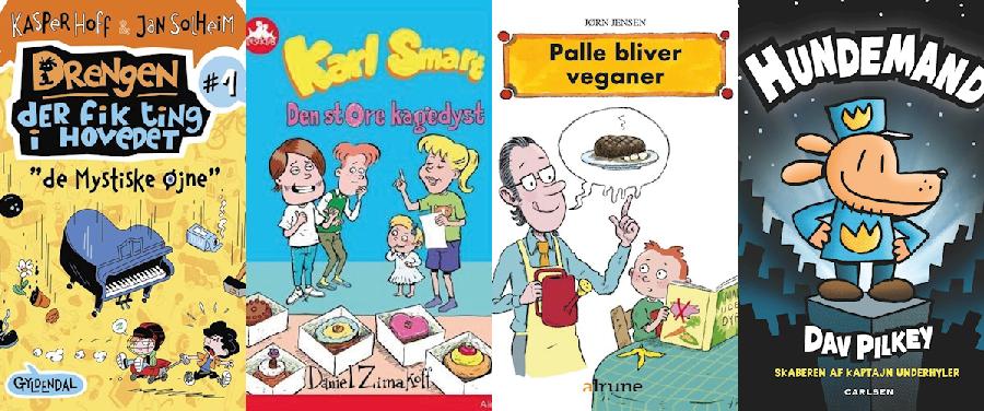 Hvilken bog skal vi vælge? Sjove