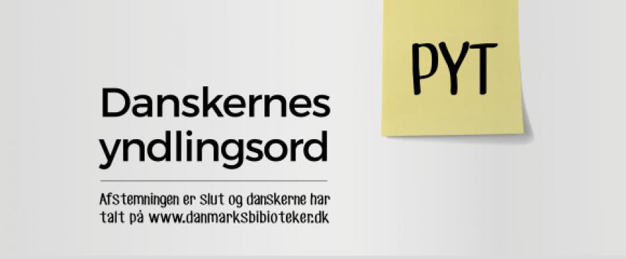 Pyt er danskernes yndlingsord