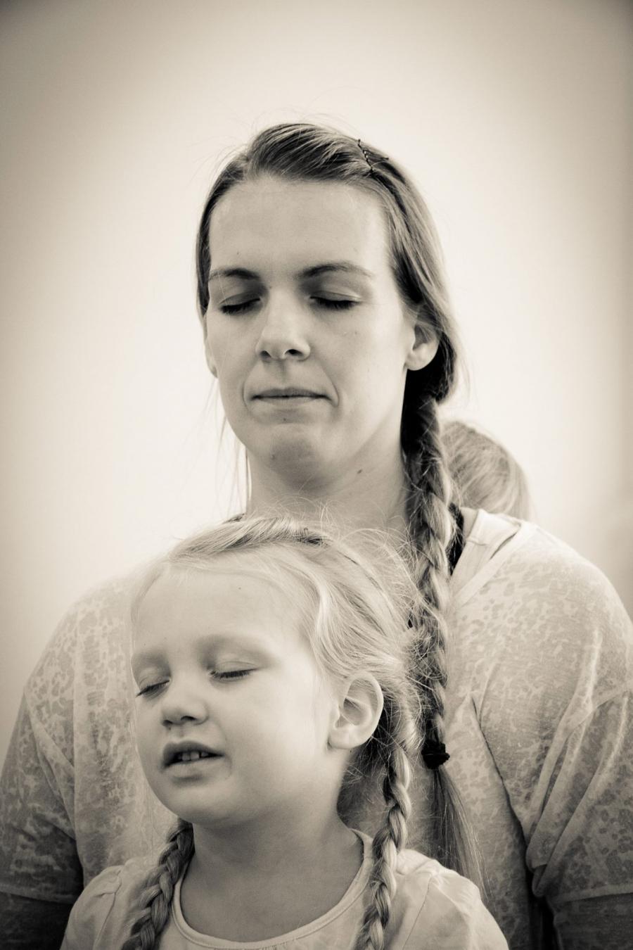 Familie-yoga med Maiken Gesche Nickel