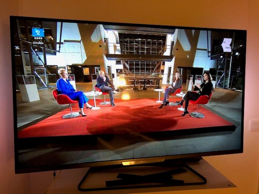 Bogfestival, søndag den 8. november 2020 på TV