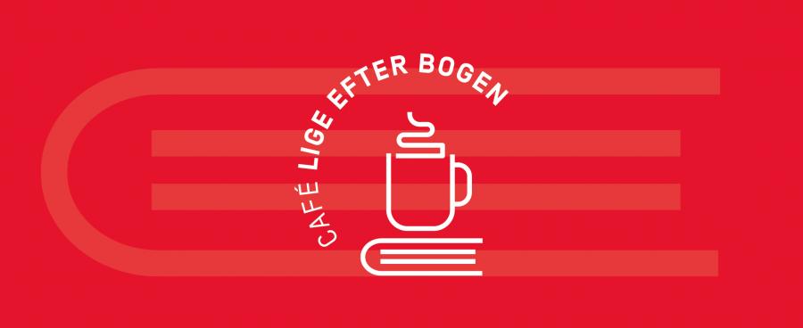 Café lige efter bogens logo