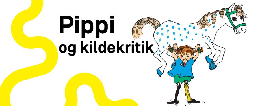 Pippi løfter en hest