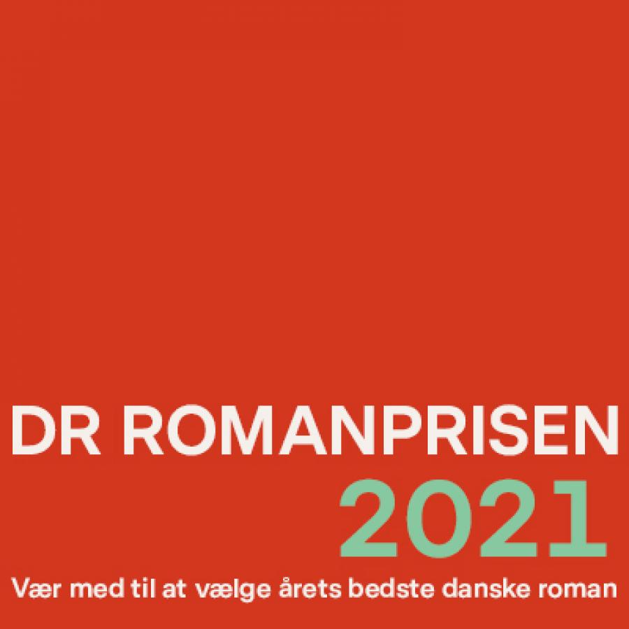 DR Romanprisen 2021 logo